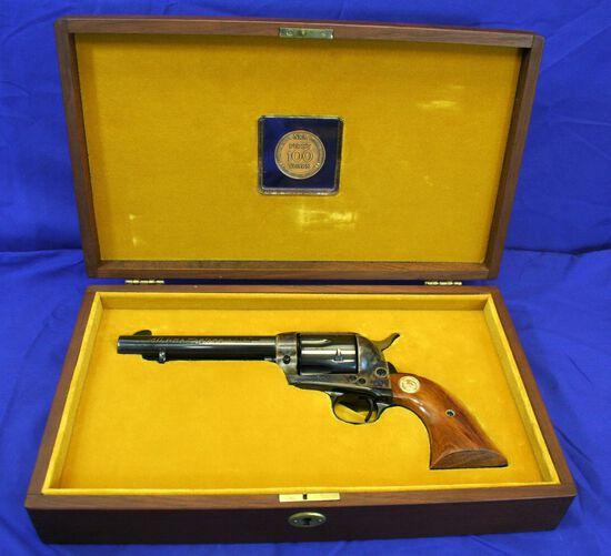 Colt SAA NRA Centennial Revolver Caliber: 45lc