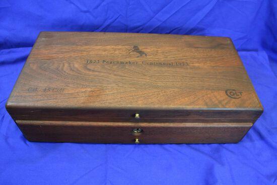 Colt SAA Peacemaker Centennial Revolver Caliber: 45lc