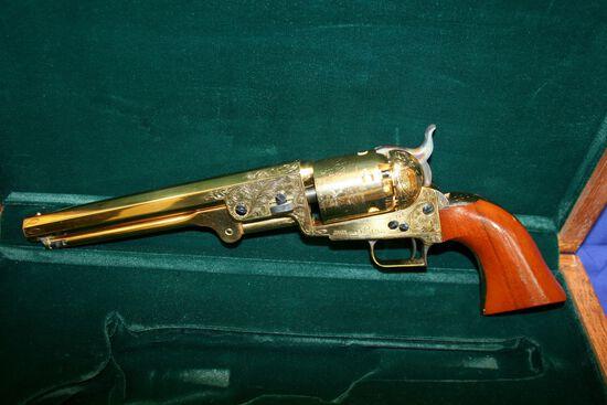 Colt US Army 1851 Cap and Ball Revolver Caliber: 41