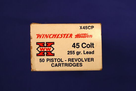 Winchester 45 Colt ammo