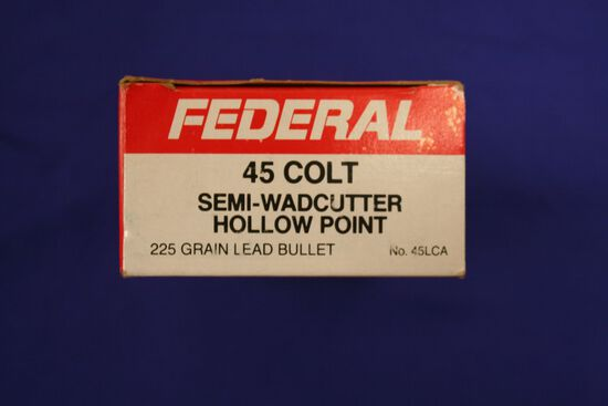 Federal 45 Colt ammo