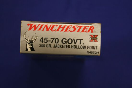 Winchester 45-70 Govt ammo