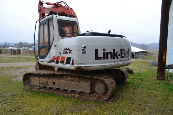 2002 Link Belt Track Hoe 130-LX