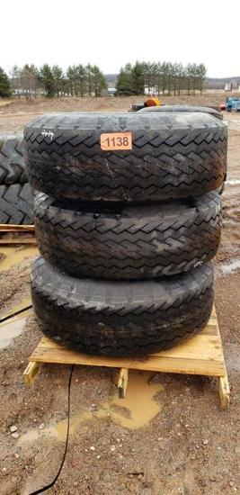 (3) Tires 18-22.5