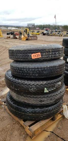 (5) Tires 11-22.5