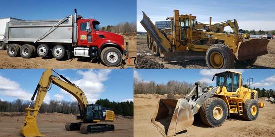 Summer Heavy Equipment Auction