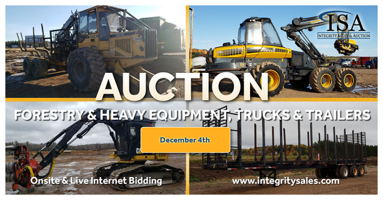 Midwest Forestry & Heavy Equipment Auction
