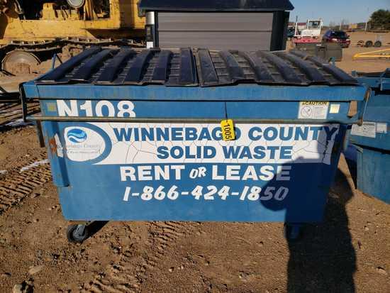 6'x3' Dumpster