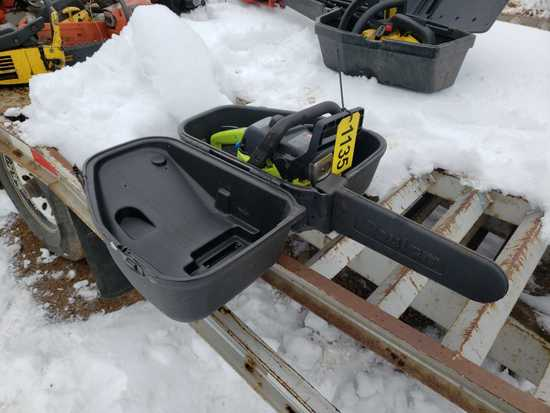 Poulan 2150 Le Chainsaw With Case