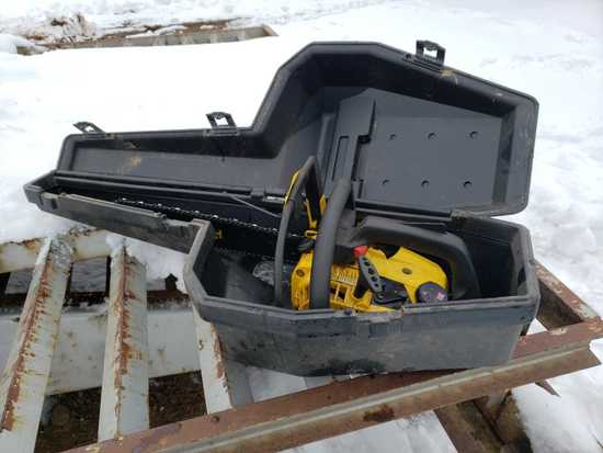 Mcculloch Power Mac 320 Chainsaw With Case
