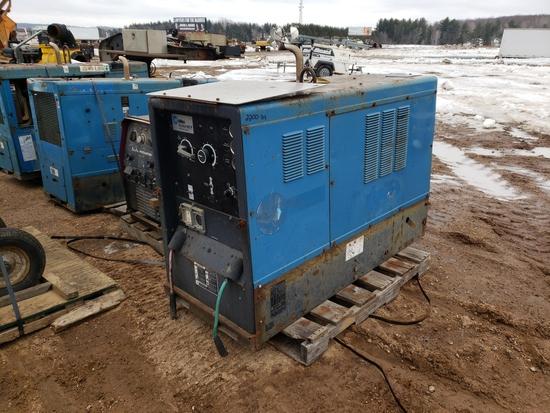 2002 Miller Big Blue 402p Welder/generator