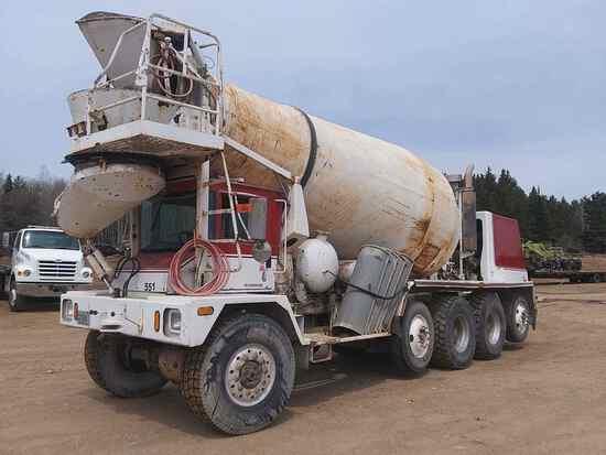 2002 Advance Cement Truck