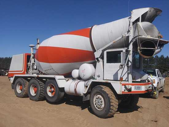 1984 Advance Mixer Cement Truck
