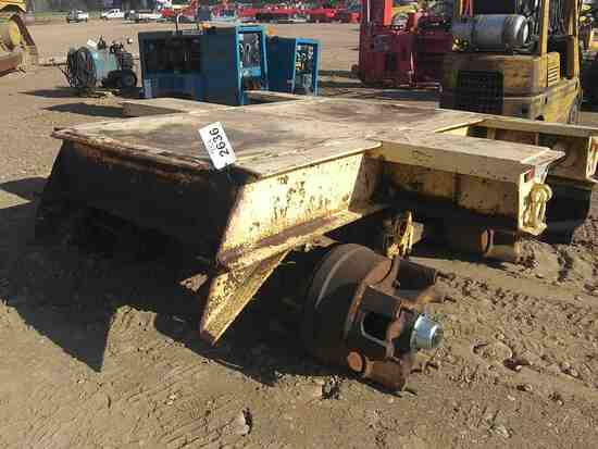Bed Section With Axles