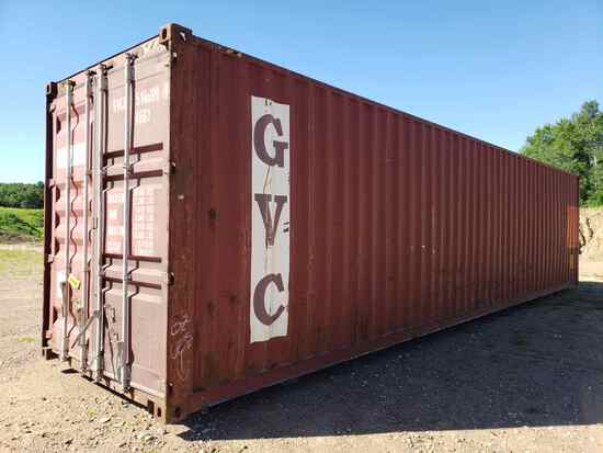 """40' Long X 9'6"""" High X 8' Wide Shipping Container"""