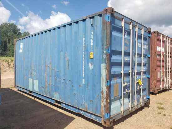 "22' Long X 8'6"" Tall X 8' Wide Shipping Container"