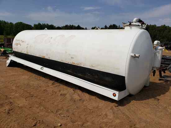 5500 Gallon Tank Truck Body- Approx 24' Long