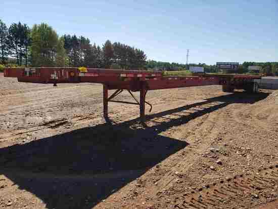 2001 Fontaine Etp-4-4875 Slawk Extendable Flatbed
