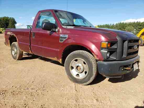 2008 Ford F250 Xl 4x4 Pickup