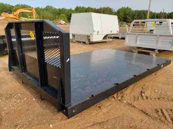 Diamond Steel Truck Bed W/ Headache Rack