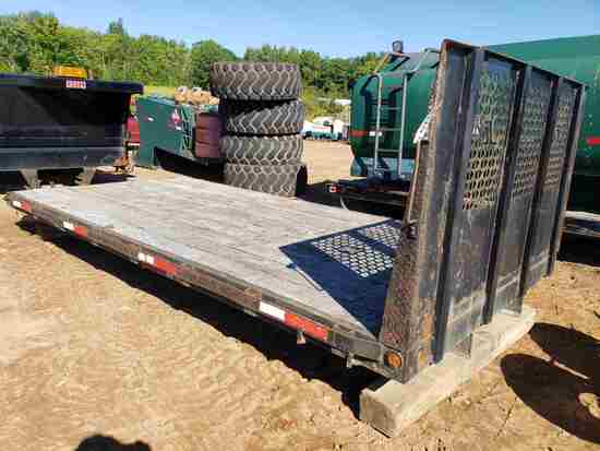 Truck Bed With Headache Rack- Approx 16' X 8'