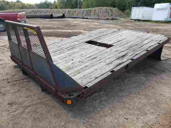 Approx 12' X 8' Truck Bed W/headache Rack