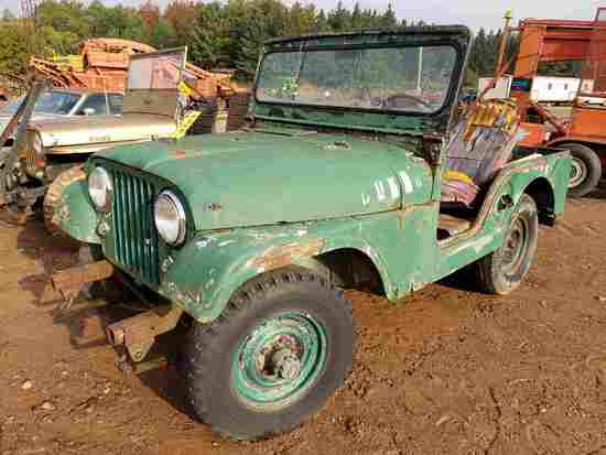 1957 Willys Overland Motors Jeep