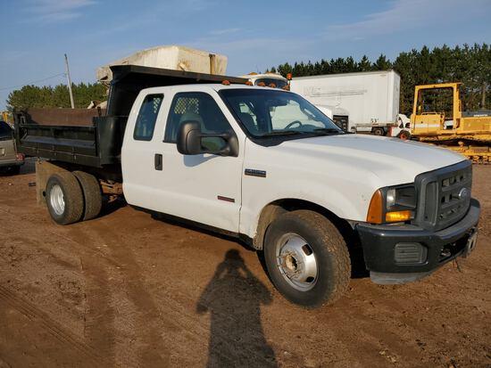 2007 Ford F350 Xl Dump Truck