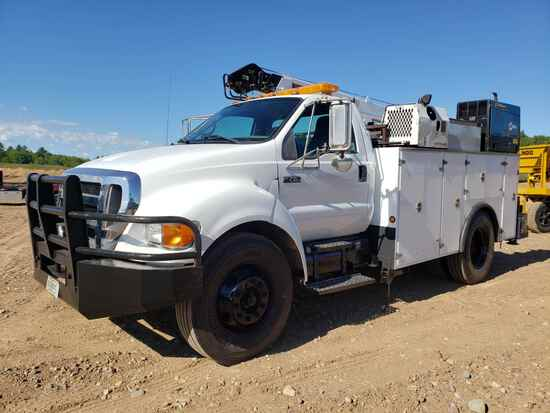 2009 Ford F750 Service Truck