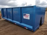 20' High Lift Dump Box W/hydraulic Lift Gate