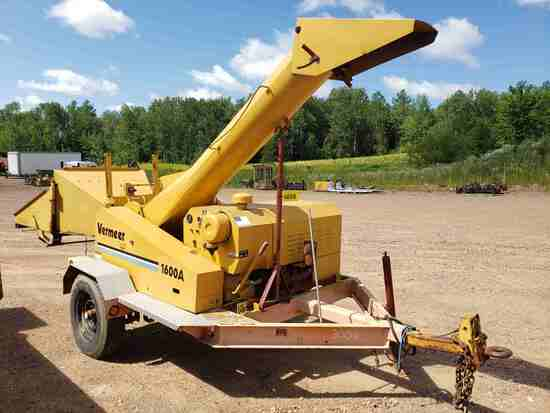 Vermeer 1600a Wood Chipper