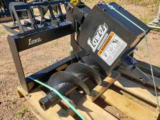 Unused Lowe 750 Skid Steer Hydraulic Auger