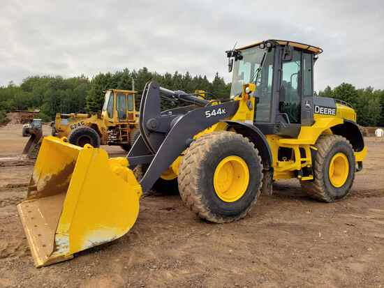 2013 Deere 544k Wheel End Loader