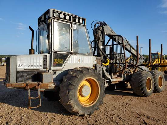 Ponsse Bison S15 Double Bunk Forwarder