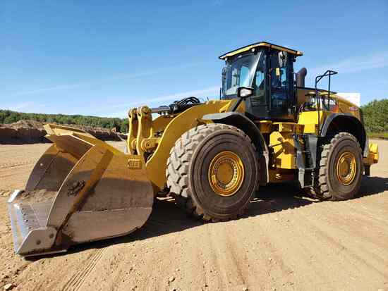 2018 Caterpillar 980m Wheel Loader