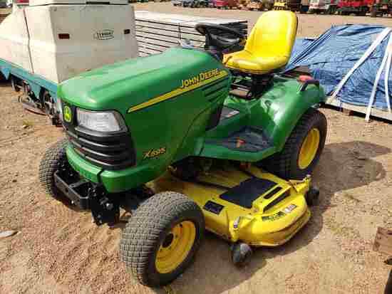 2002 John Deere X595 4x4 Diesel Lawn Tractor