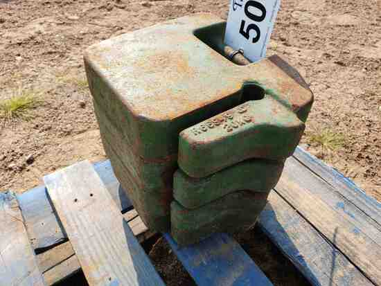(4) 20kg(40lb) Suitcase Weights- Part# R66949
