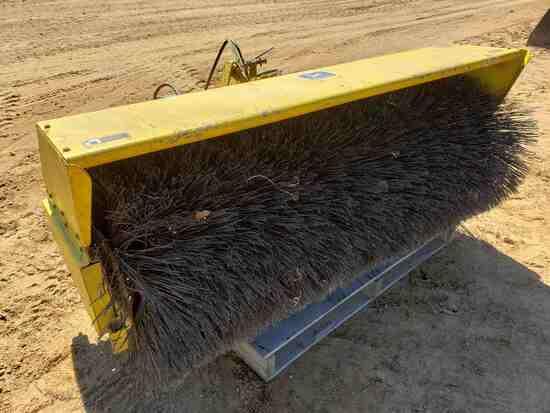 John Deere 26 Broom- Approx 5' Wide