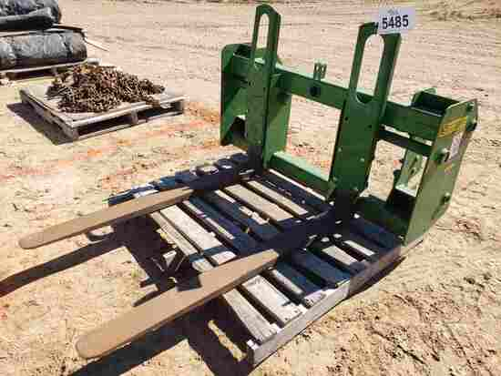 """Pin-on Tractor Loader Forks-approx 48"""" Long"""