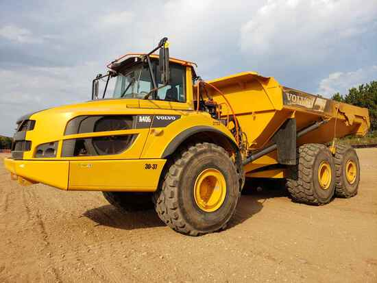 2017 Volvo A40g Haul Truck
