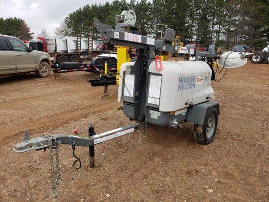 2014 Wacker Neuson Ltn6l Light Plant