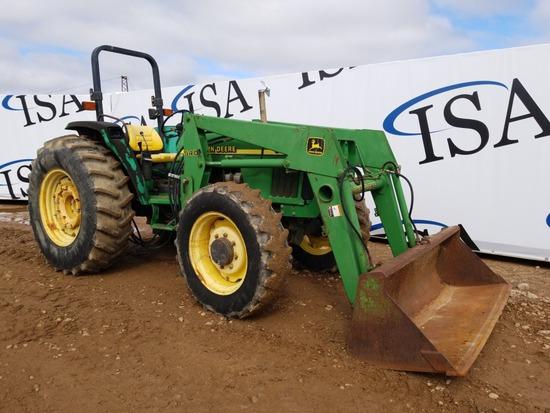 1998 John Deere 5510 Loader Tractor