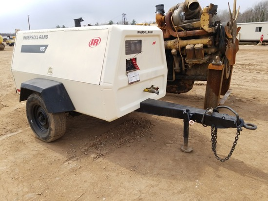 Ingersoll Rand P185 Air Compressor