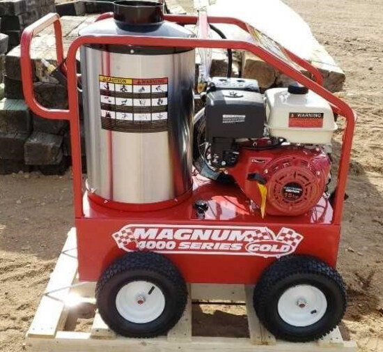 Magnum Gold 4000 Series Hot Pressure Washer