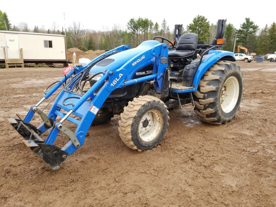 New Holland Tc 35d Tractor