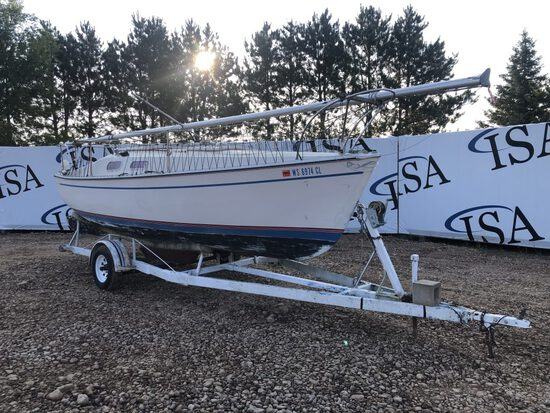 1975 Canyon Bay Boatworks Chrysler 22ft Sailboat