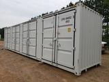 Unused 40ft High Cube Multi-door Container