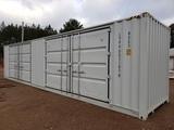 Unused 40ft High Cube Two Multi-door Container