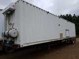 1984 Hyundai Tg40 Container Chassis W/maint