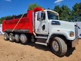 2015 Western Star 4700 Sf Quad Dump Truck